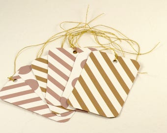 Gift Tags. 6 Gift Tags. Wedding Party Thank You Gift Tags, Birthday Gift Tags, Parcel Gift Tags, Ready to Ship