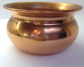 Big Sale Vintage Coppercraft Cache Planter Pot