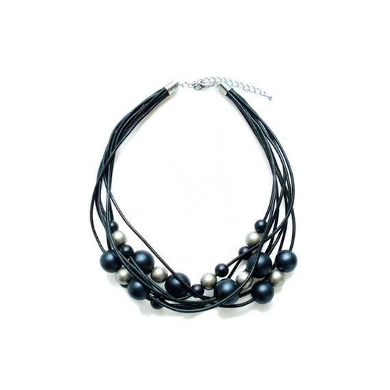 Metallic Beads Necklace