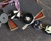 Antique Button Bracelet, ...