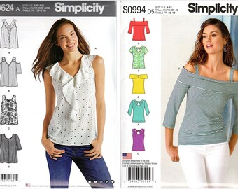 Simplicity Sewing Pattern Misses Summer Clothes