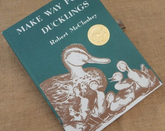 Make Way For Ducklings by Robert McCloskey  Copyright 1969