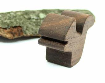 Black Squirrel Wood Toy, Canadian Squirrel, Forest Animal Toy, Woodland Animal
