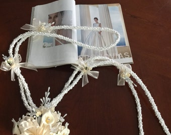 wedding lasso lazo for wedding ivory cord lazo lazo para boda bridal