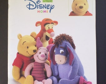 Pooh and Friends Crochet Patterns for Stuffed Toys