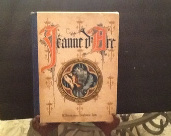 "Antique book """"Jeanne D'Arc"" French."
