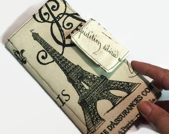 Credit Card Holder, 12 - 38credit card Holder, Eiffel Tower, Card Holder, Small Card Holder