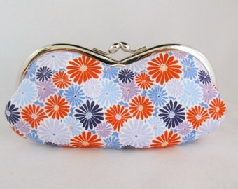 Sunglasses Case - Soft Eyeglass Case - Eye Glass Case - Cute Glasses Case - Sunglass Case - Glasses Case Kiss Lock