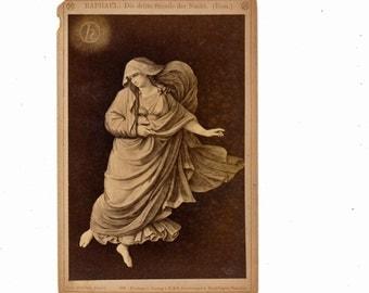 Museum Art cabinet card Raphael number 2 Dresden 1800s 19th century Grand Tour albumen