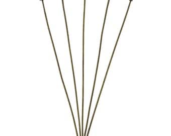 500 Head Pins - WHOLESALE  - 70mm - .7mm  (20 Gauge) - Ships IMMEDIATELY from California - F388