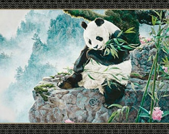 Quilting Treasures - Imperial Panda Panel