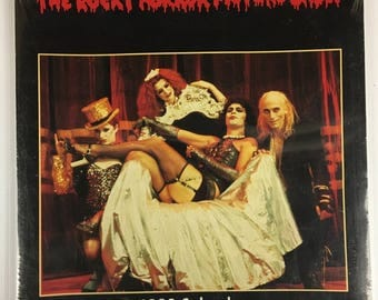 Rocky Horror Picture Show - Vintage Wall Calendar 1990 - Brand New