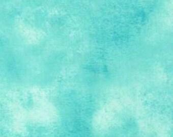 Fat Quarter --Wilmington Essentials -Washart Aqua-100% Cotton Fabric