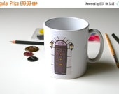 ON SALE 221B Baker Street Mug Sherlock Holmes Mug Geeky Mug
