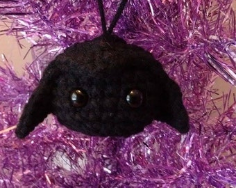 Star Wars Darth Vader Inspired Ornament - Mini Plushie - Tiny Doll