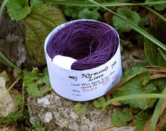 Purple 16/2 Normandy Linen