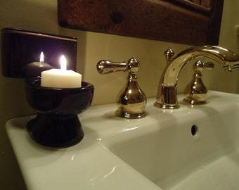 Votive Candle Toilet (Gloss Black)