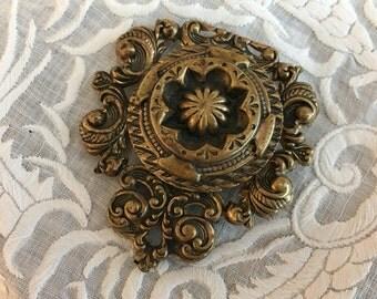 Vintage Decorative Money Clip, Shoe Clip, Accessory Clip.  One Clip Edwardian Victorian Regency Purse Accessory