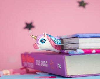 MYBOOKMARK // Glam Unicorn // Fairyland Collection // Handmade and crafted with love //  Back to school gift  //