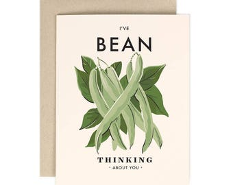 Bean Thinking About You - Everyday Card