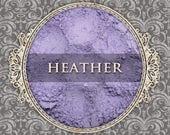 HEATHER Matte Eyeshadow: Samples or Jars, Light Lavender Purple, Powder Eyeshadow, Cosmetic Pigment, VEGAN Makeup, Ships Out in 4-7 Days