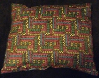 Native print pillow
