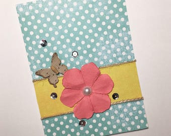 Floral Greeting Card  **READY TO SHIP**