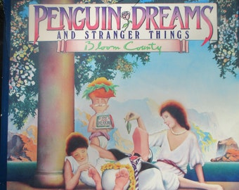 Vintage Book Penguin Dreams and Stranger Things Blook County Berke Breathed 1985