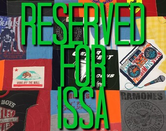 Memory Quilt - reserved for Issa