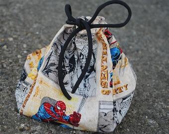 Comic Book Dice Bag