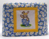Easter Toaster Cover, Bunny in Egg, Daisies and Easter Bunny, Easter Bunny Toaster Cover