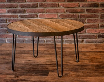 round dining table 54 inch table top reclaimed wood table