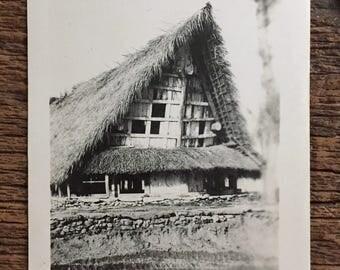 Original Vintage Photograph The House that Jack Built