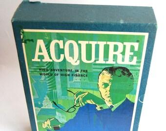 Vintage Game, Aquire, Bookshelf Game