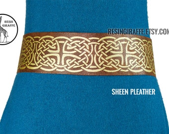 Custom Made: Celtic Belt with fabric options. Merida from Brave