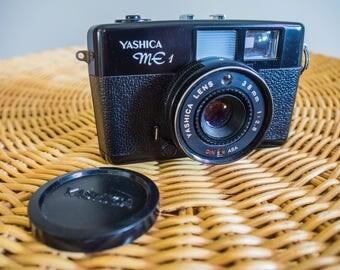 Yashica ME1 Range Finder, Yashica, 38mm f2.8 lens, Yashica camera, 35mm film, Film Camera, Vintage, Range Finder, Camera, Vintage Film, ME1