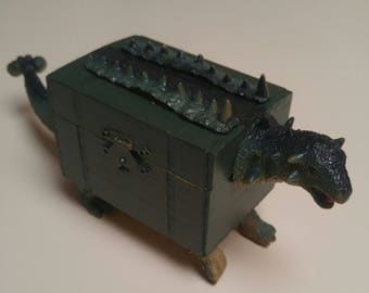 Dinosaur Treasure Box