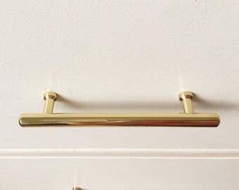 Tara Brass Drawer Handle, Brass Drawer Pulls