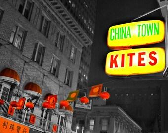 Chinatown Kites Photo Print