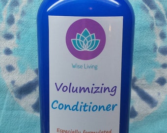 Volumizing All Natural Conditioner//All Natural Conditioner for fine hair//All Natural Lemon & Lavender Conditioner