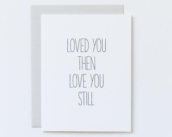 Anniversary Card, 10th Anniversary Card, 25th Anniversary Card, 50th Anniversary Card, Silver Anniversary, Timeless Romance, Always Love You