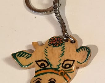 Bamboo Cow key chain.