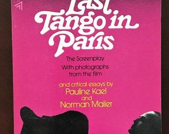 Last Tango in Paris, movie screenplay in book form.