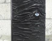 Hocus Pocus Fake Book Box Black Leather Storage Book Stash Organizer Tarot Harry Potter Desk Accessory RPG Dice Box Pencil Box