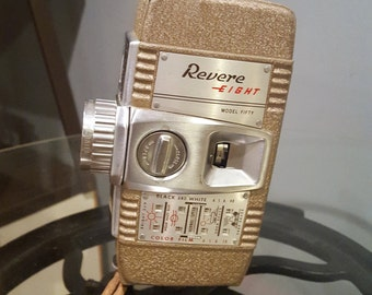 Revere Eight Model Fifty 50 8mm Movie Camera - 1950 USA