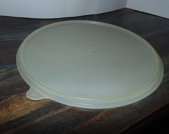 Tupperware Round Sheer replacement lid 229  LID ONLY Vintage Pre 1970