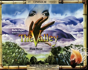 Philip Castle-The Valley (Obscured by Clouds)-1972 Poster
