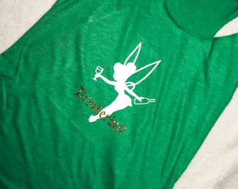 Drinkerbell Racerback Shirt | Tinkerbell Tank | Disney Drinking Shirt | Peter Pan | Drink Around the World | Walt Disney World