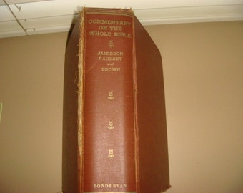 1935 Commentary on the Whole Bible Zondervan Christian Old testament and New