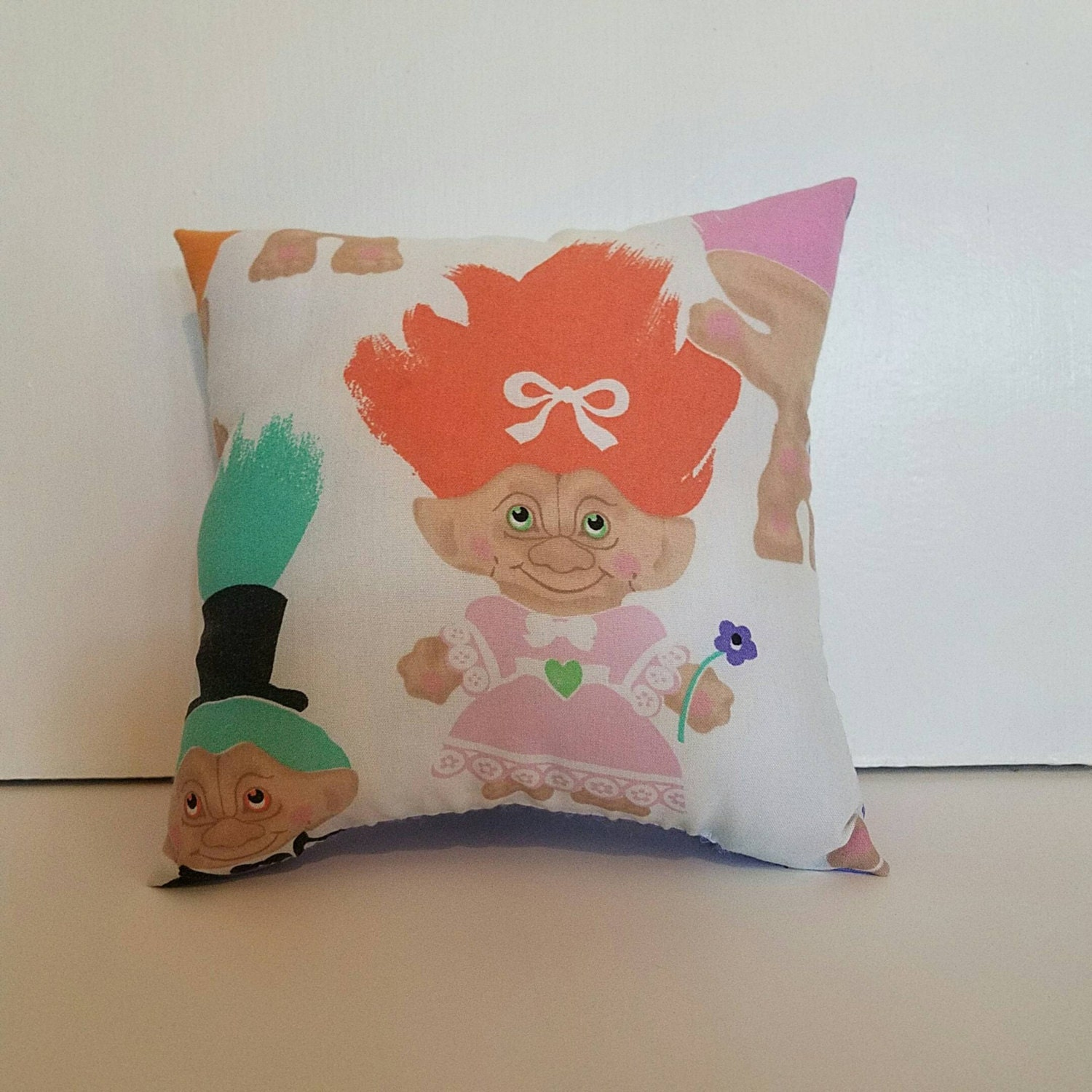Troll Doll Decorative Pillow